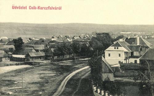 Karcfalva:látkép,1906.