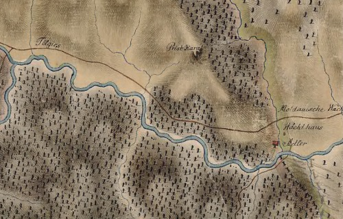 Gyergyótölgyes (Tölgies):Erdély és Moldva határa 1769-1773 között,(vám:1806-tól).