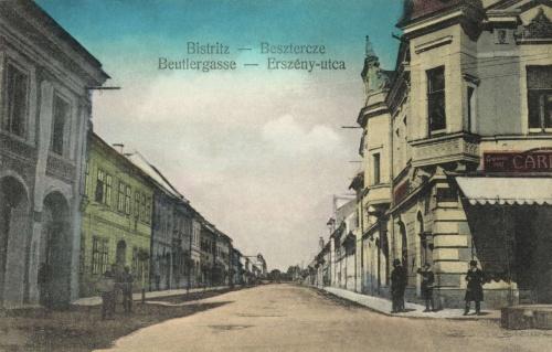 Beszterce:Erszény utca,1916