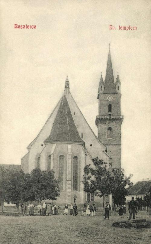 Beszterce:evangélikus templom,1908