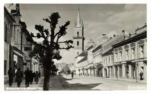 Beszterce,Főutca,1941