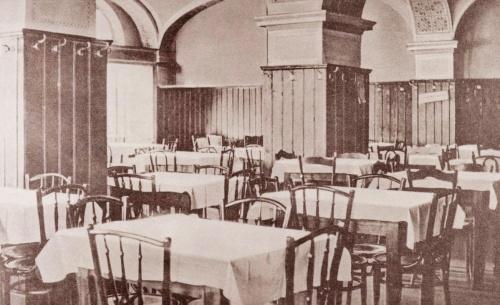 Beszterce:Kozponti szálloda étterme,tulajdonos:Schneider Gusztáv,1927