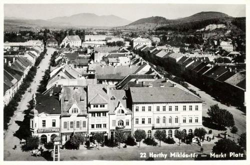 Beszterce:Horthy Miklós tér,1943