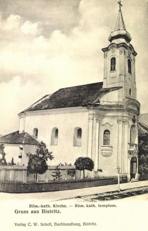 Beszterce:katolikus templom,1906
