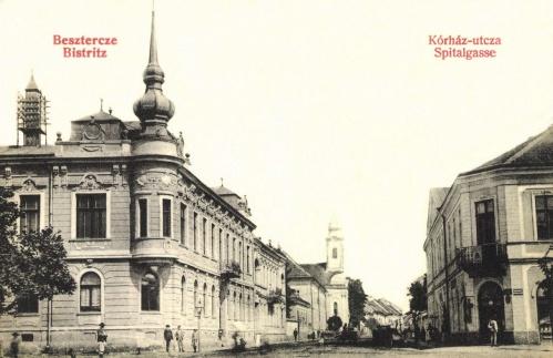 Beszterce:Korház utca,1908