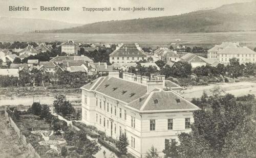 Beszterce:Ferencz József laktanya,1913