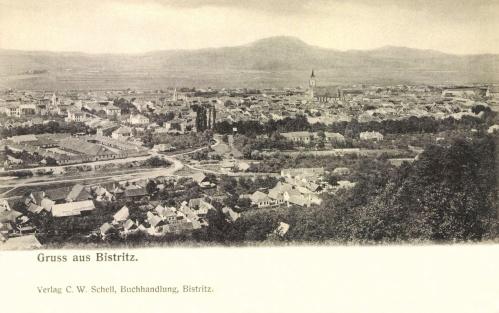 Beszterce:látkép,1906