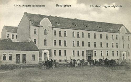 Beszterce:Magyar Királyi Polgári Leányiskola és Elemi Vegyes Népiskola,1915