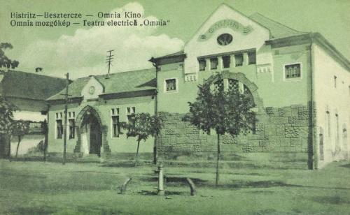 Beszterce:Omnia mozgókép filmszinház (mozi),1913