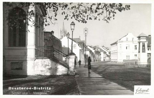 Beszterce:sétatér,1941