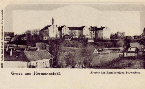 Nagyszeben:orsolya rendi nővérek zárdája,1904.
