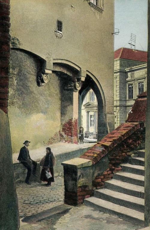Nagyszeben:utcarészlet,1915.