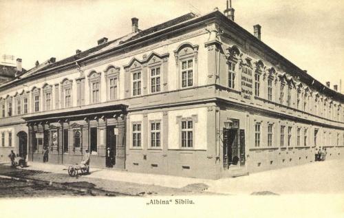Nagyszeben:Albina bank,1906.