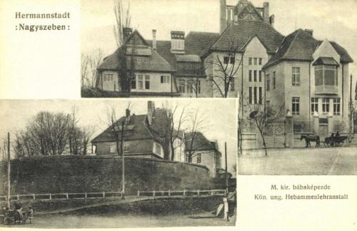 Nagyszeben:bába asszony képző,1906.