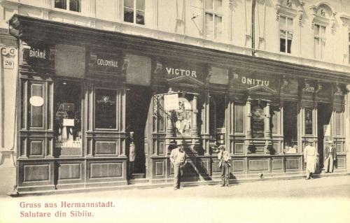 Sibiu:üzletek,1909.