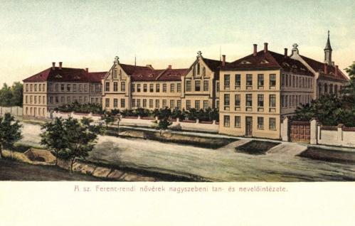 Nagyszeben:ferences rendi nővérek nevelőintézete,1907.