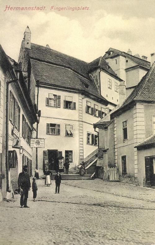 Nagyszeben:Fingerlings tér,1909.