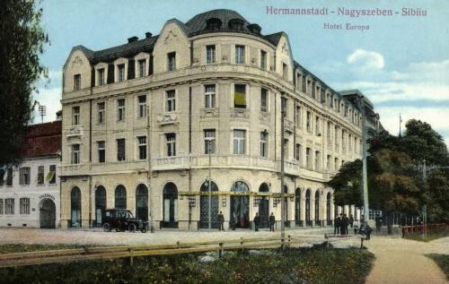 Nagyszeben:Hotel Europa,1913.