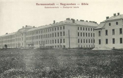 Nagyszeben:hadapród iskola,1908.