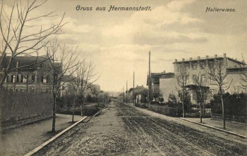 Nagyszeben:Hallerwiese,1907.