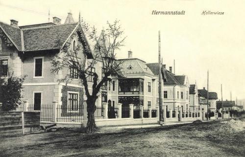 Nagyszeben:Hallerwiese,villák,1915.