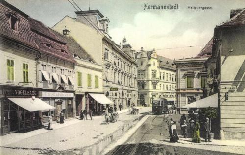 Nagyszeben:Heltauergasse,1907.