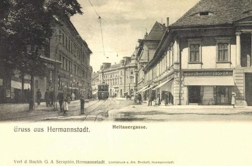 Nagyszeben:Nagydisznódi utca,1906