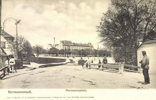 Nagyszeben:Hermann-tér,1906.