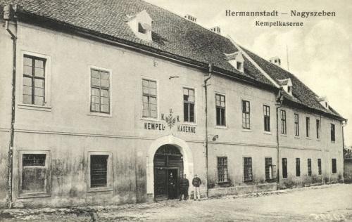 Nagyszeben:Kempel laktanya,1915.