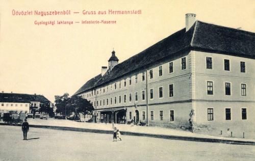 Nagyszeben:gyalogsági laktanya,1907.