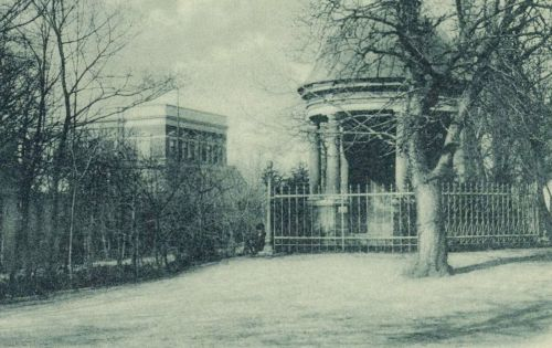 Nagyszeben:Latzel emlékmű és a Természettudományi múzeum,1899.