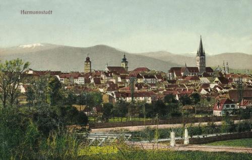 Nagyszeben:látkép,1914.