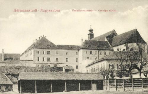 Nagyszeben:orsolya rend zárdája,1911.