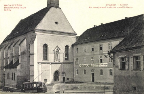 Nagyszeben:orsolya rendi apácák nevelőintézete,1911