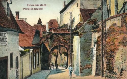 Nagyszeben:Pempflingergasse,1913.