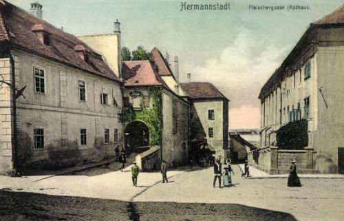 Nagyszeben:régi városháza,1907.