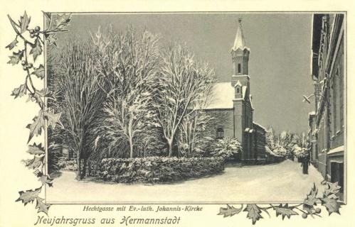 Nagyszeben:református templom,1905.