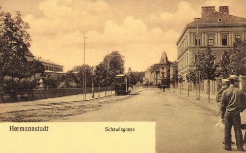 Nagyszeben:Schewisgasse,1906.