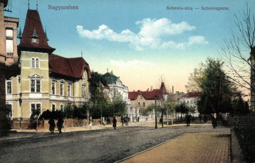 Nagyszeben:Schewis utca,1915.
