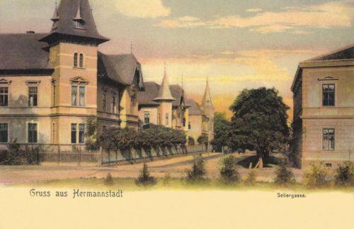 Nagyszeben:Seilergasse,1905.