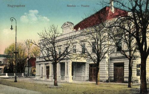 Nagyszeben:szinház,1915.