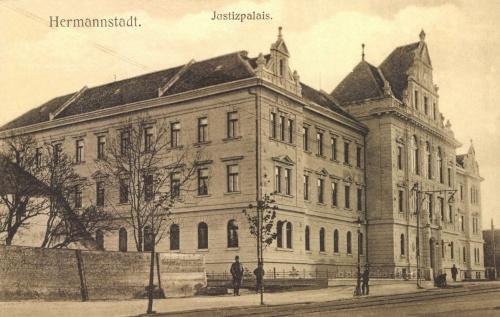 Nagyszeben:Igazságügyi palota,Törvényszék,1912.