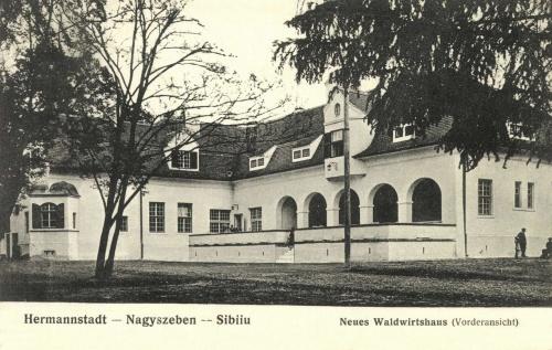 Nagyszeben:erdei vendéglő,1906.