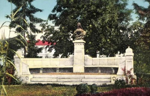 Arad:Erzsébet királyné emlékműve,1915.