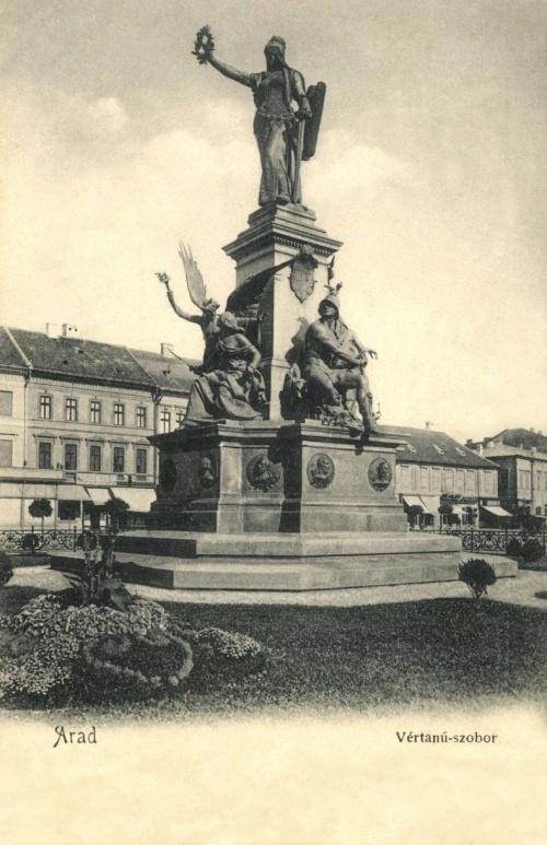 Arad:Szabadság szobor,1902.
