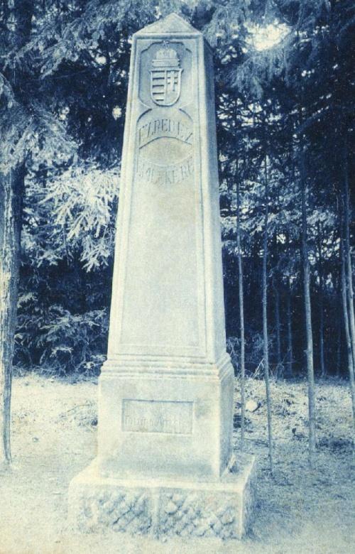 Bereck:milleniumi emlékmű,1915-ben.