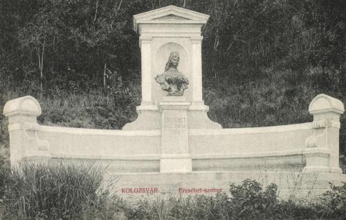 Kolozsvár:Erzsébet királyné emlékmű,1908.
