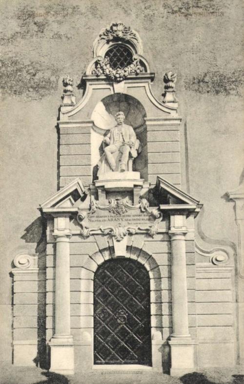 Nagyszalonta:Arany János szobra.1908.
