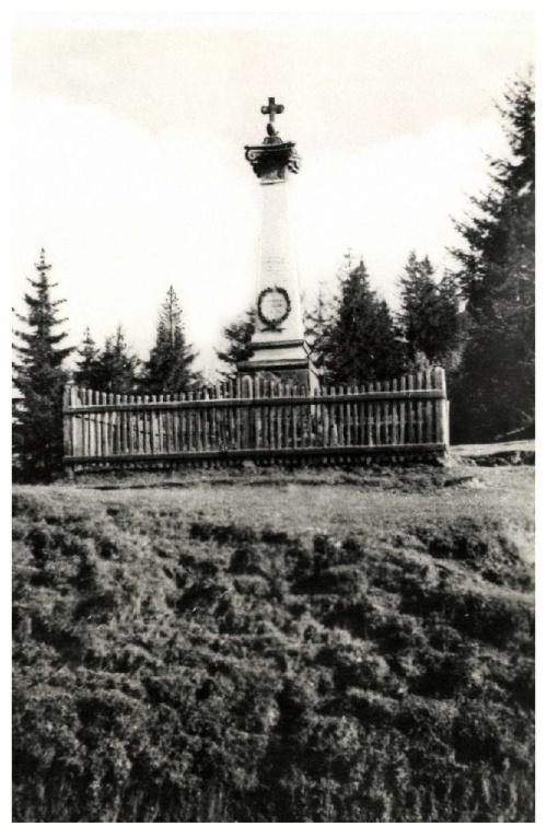 Nyergestető:1848-as honvéd emlékmű,1943