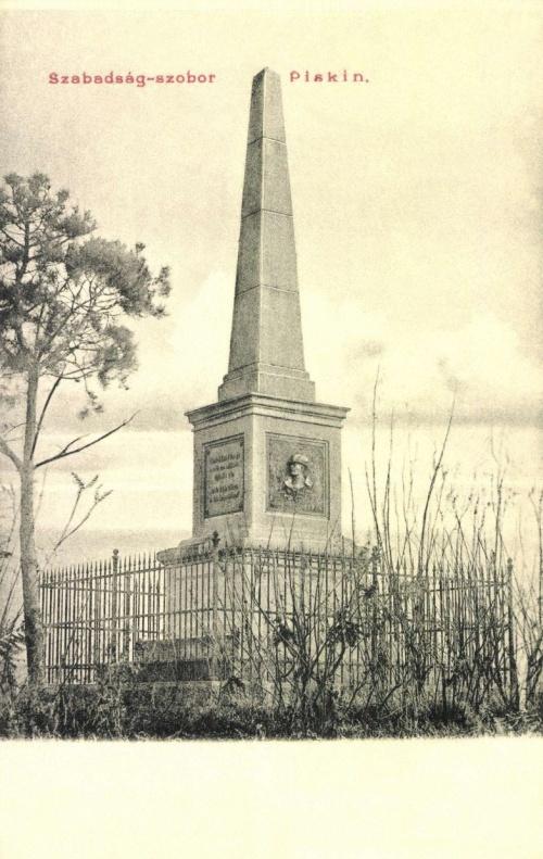 Piski:Bem emlékmű,1904